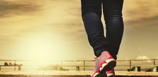 Our feet are made for walking