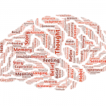 Word cloud of the mind